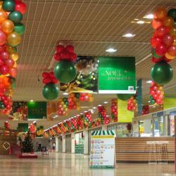 Décoration Ballons centre commercial