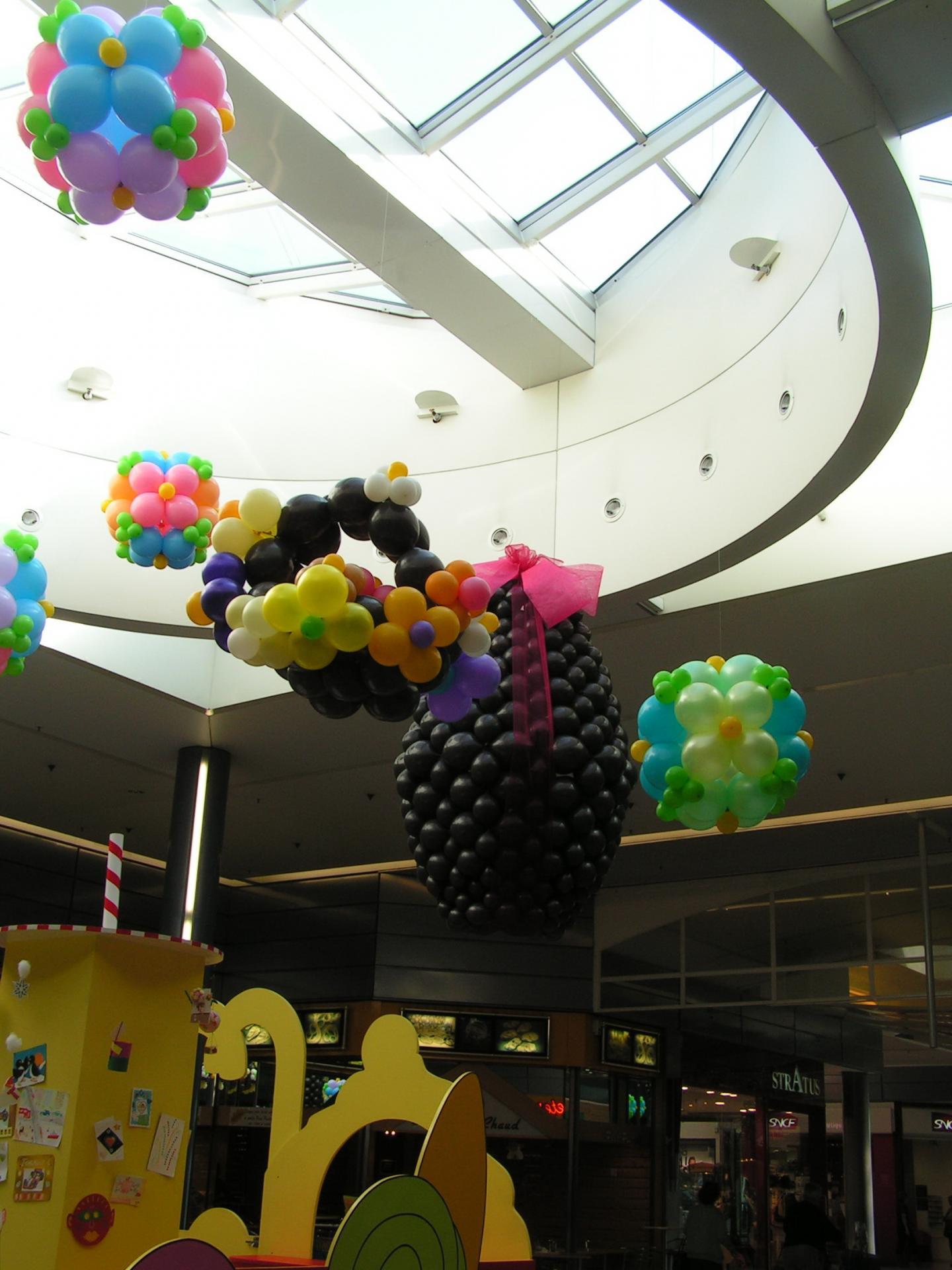 Décor à thème centre commercial