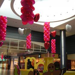 Décoration Ballons Saint Valentin