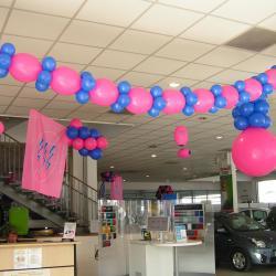 Décoration Ballons portes ouvertes Renault