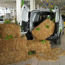 Mise en scène véhicule utilitaire