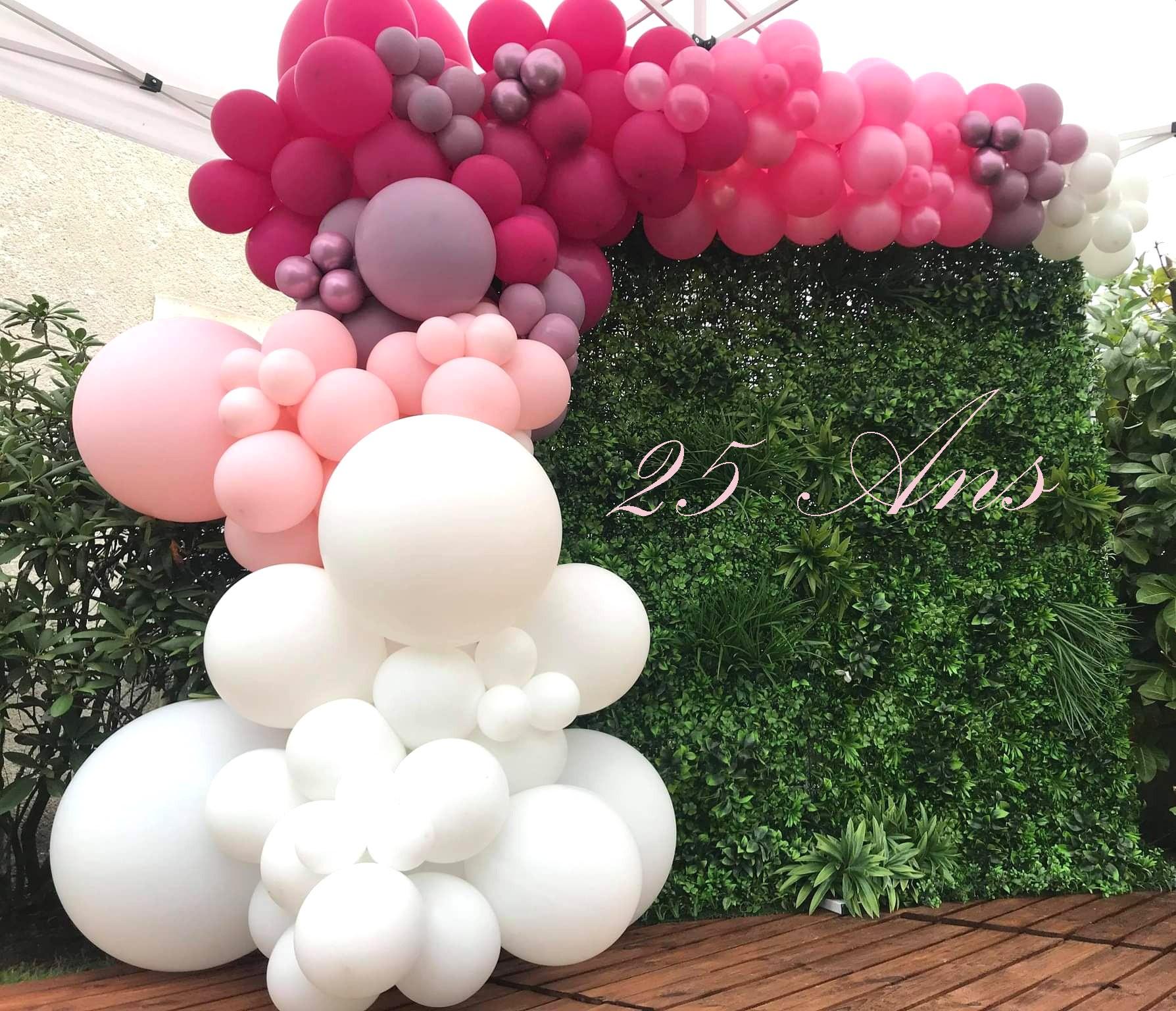 Ballon organique deco anniversaire