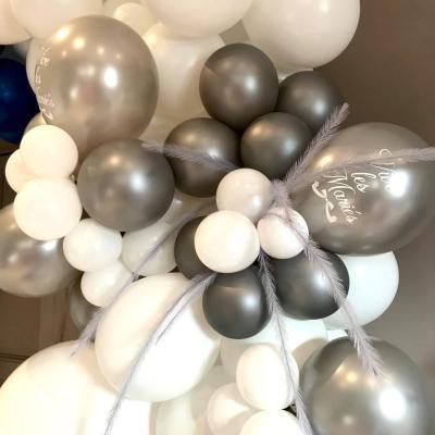 Ballon organique mariage hiver