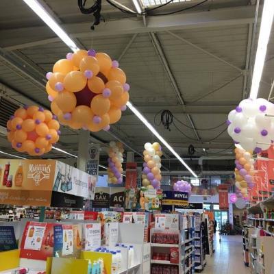Structure Décorative en Ballons