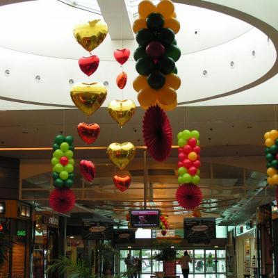 Décoration avec Ballons pour Centre Commercial