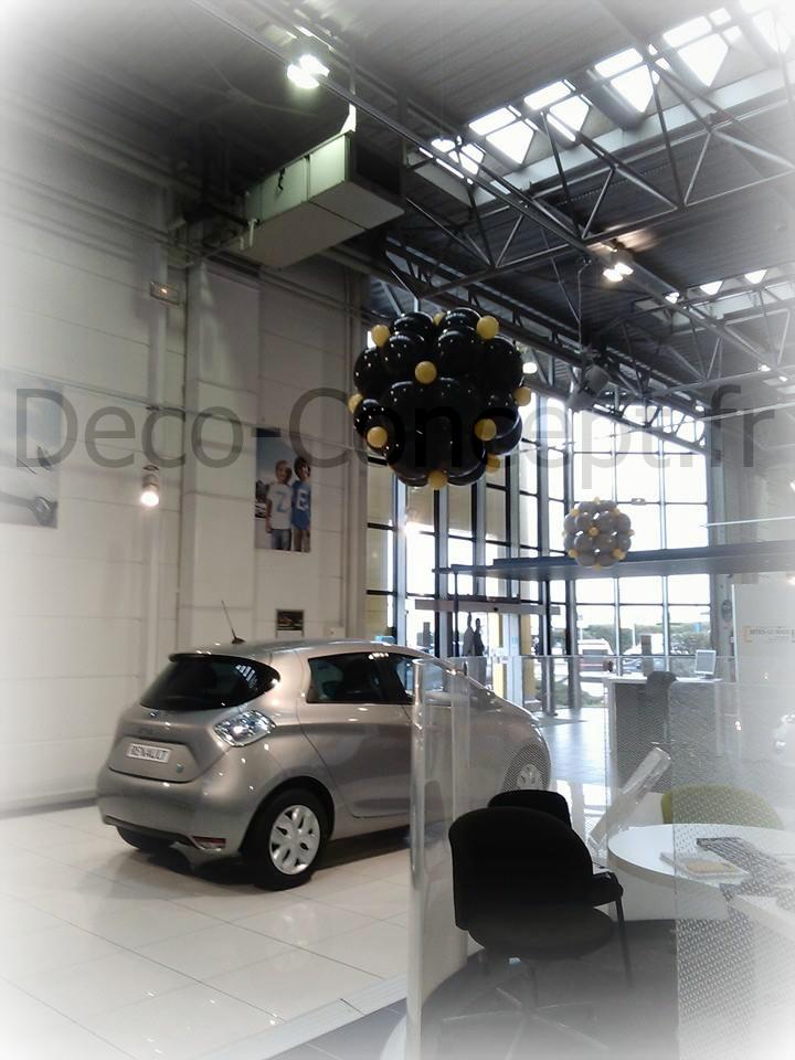 Décoration Ballons Concession Automobile