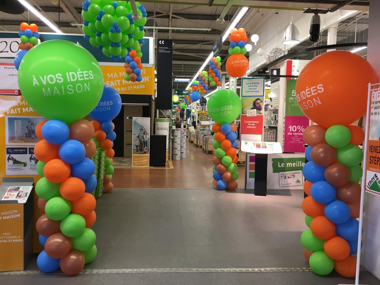 décors en ballons