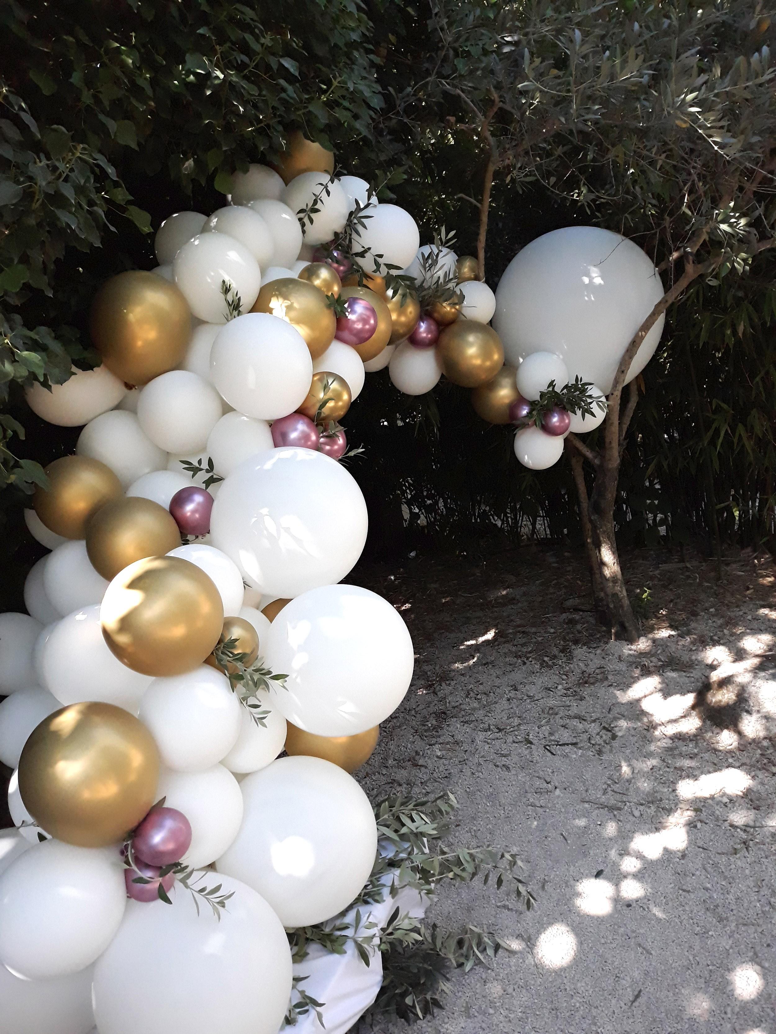 Demi arche ballon organique