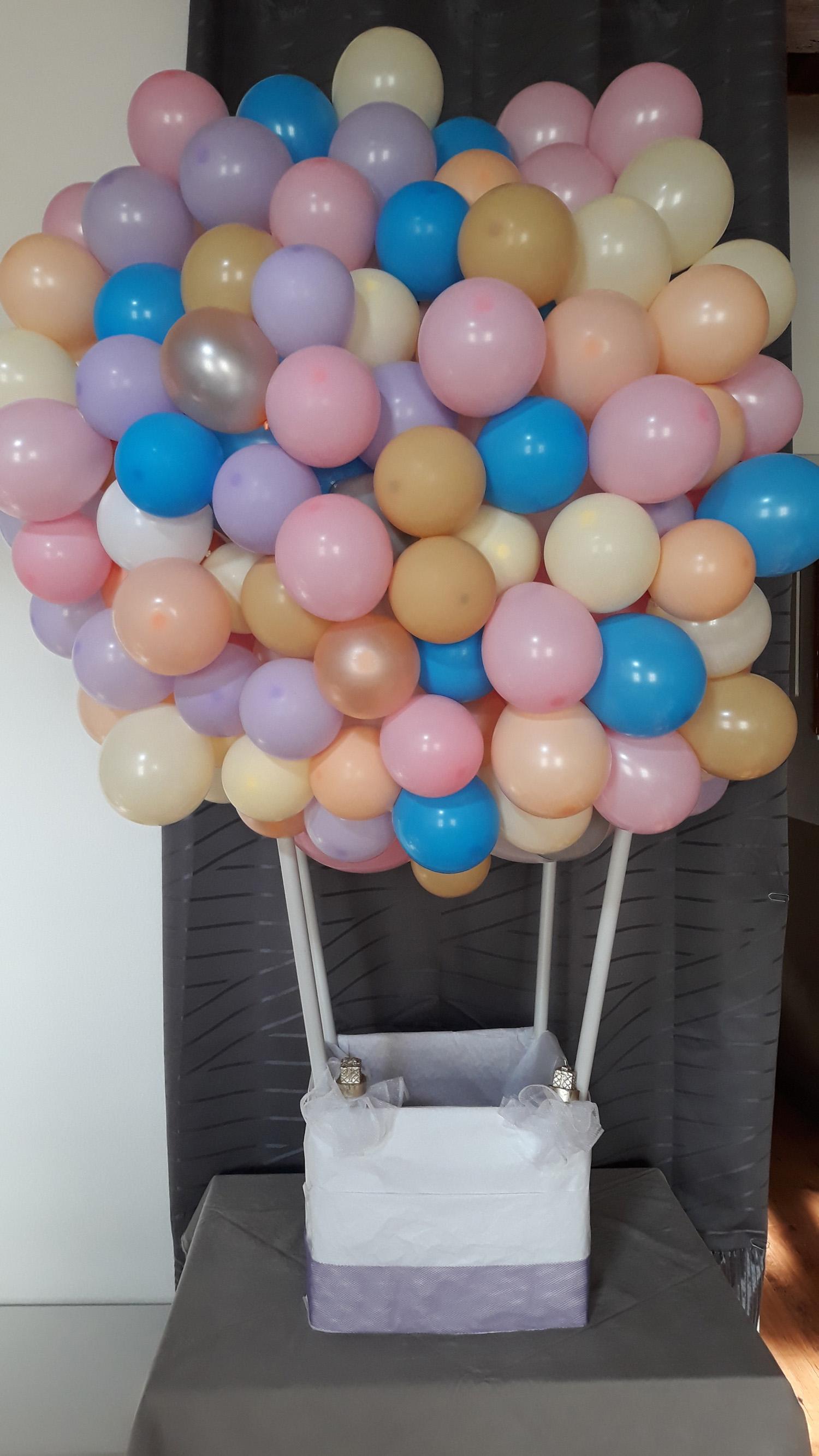 Montgolfiere ballon organique