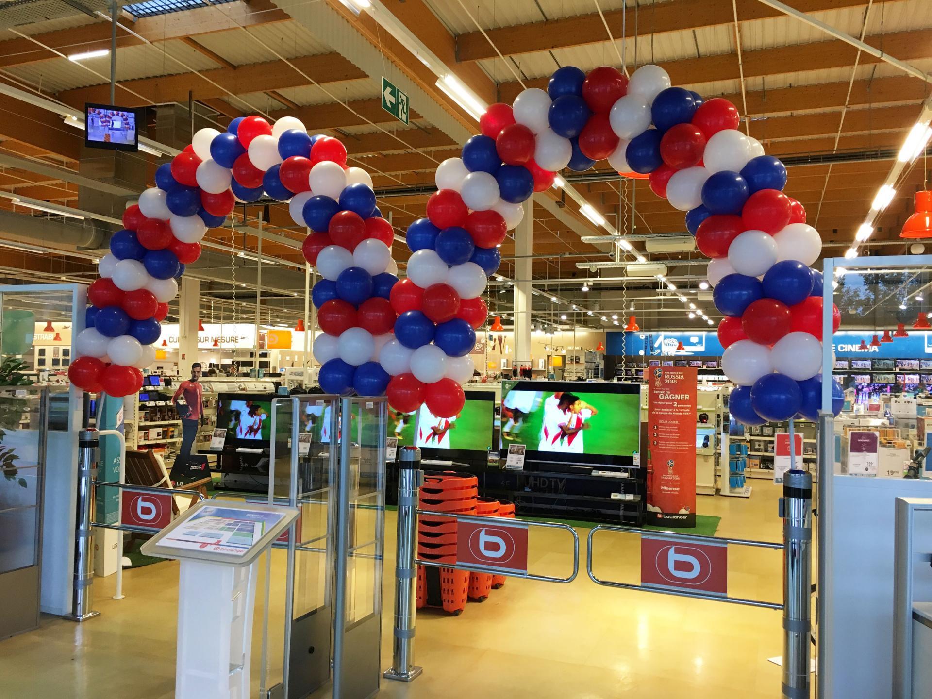 Arche Ballons entrée magasin
