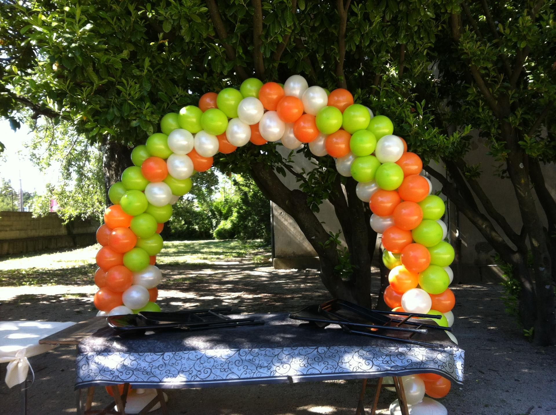Support Arche Ballon