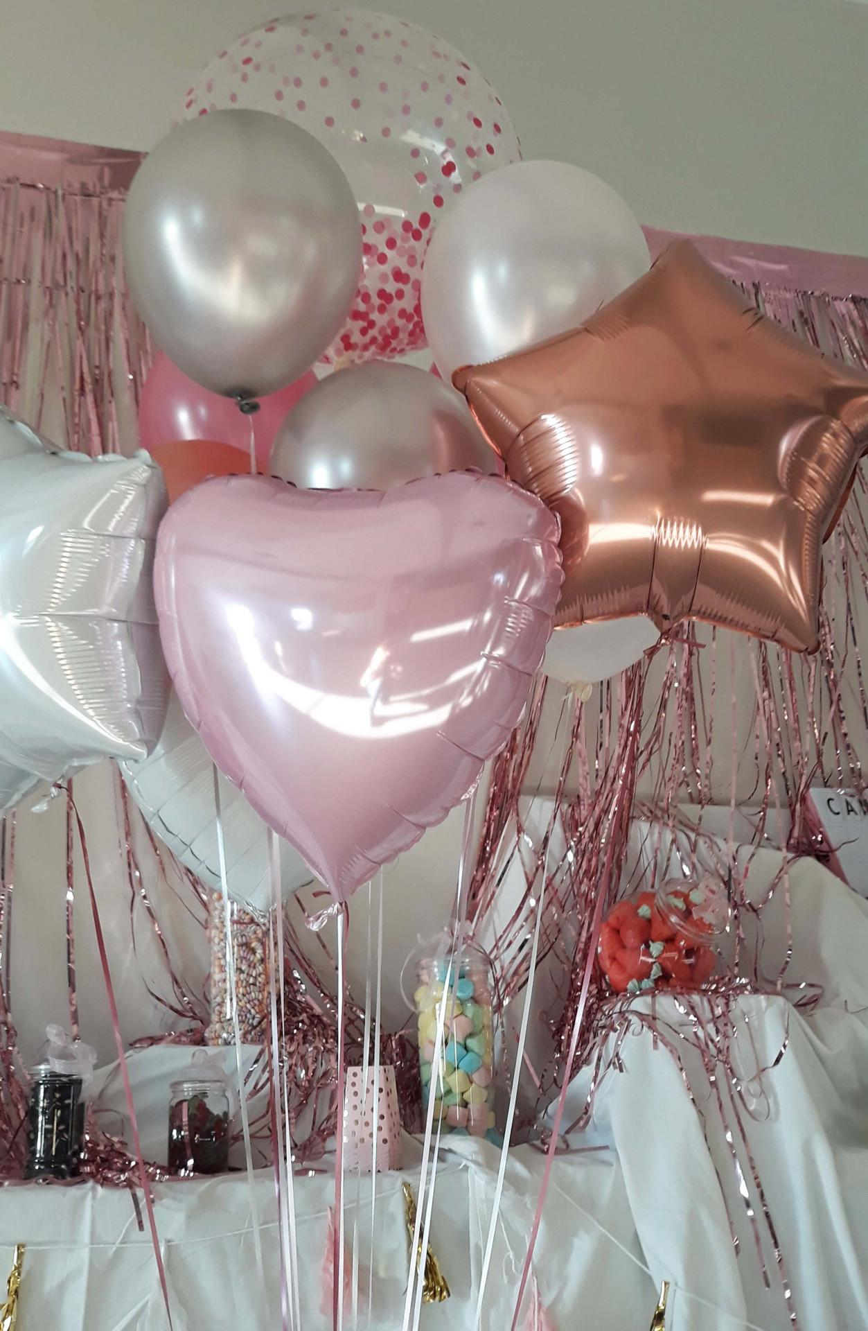 Bouquet ballons alu mylar