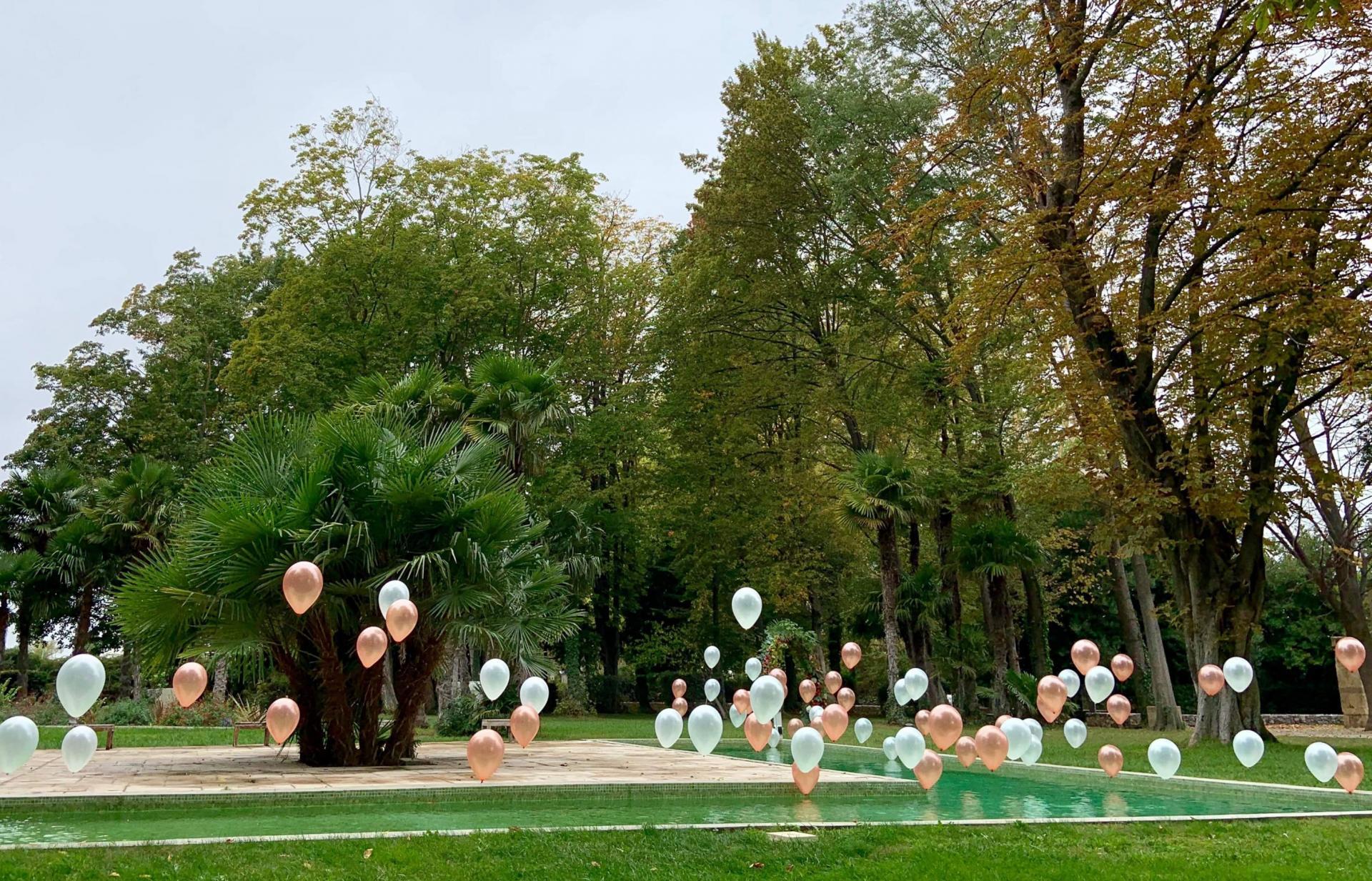 Hélium et ballons 30 cm
