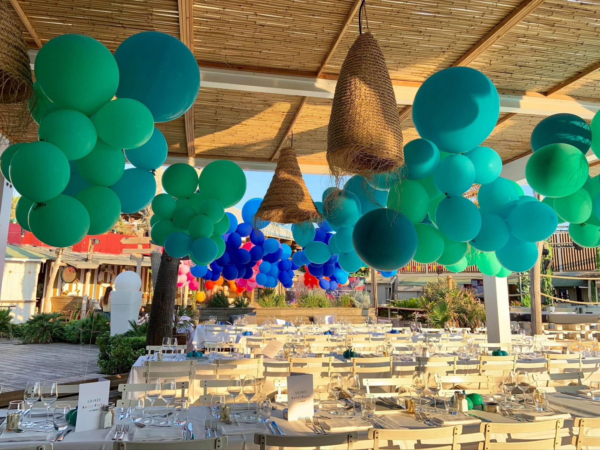Bouquet Ballon hélium organique