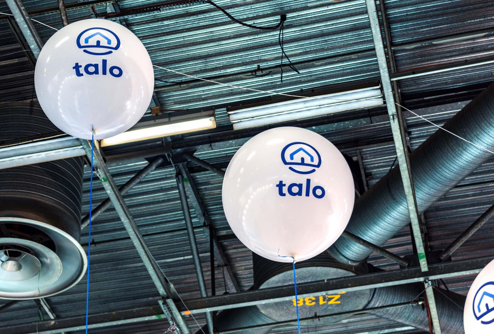 Ballon géant floqué 2 couleurs
