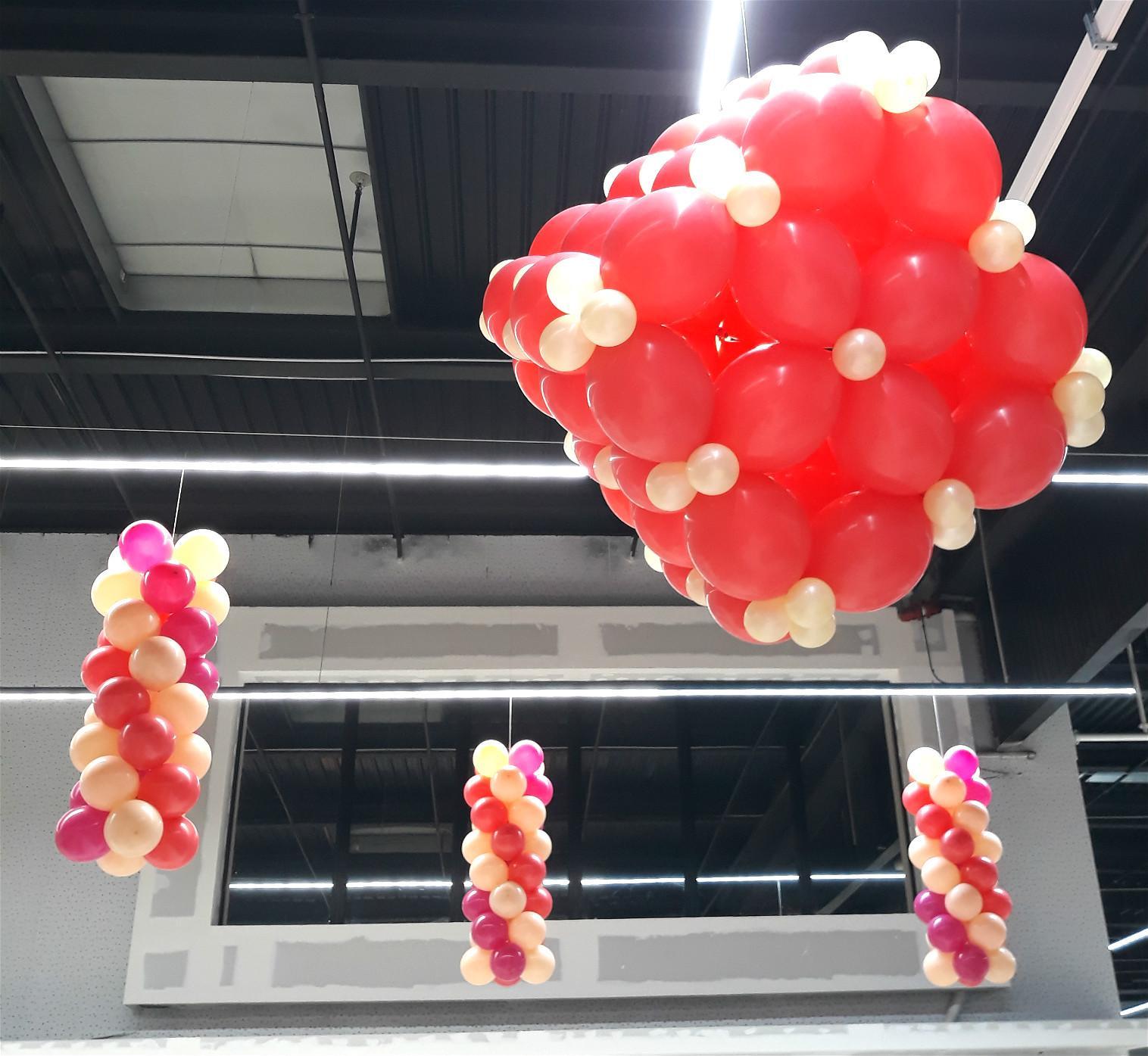 Cube en ballon baudruche
