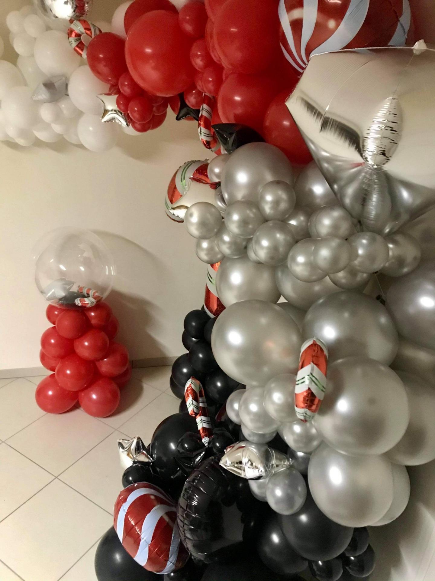 Demi Arche Organique ballon Noël