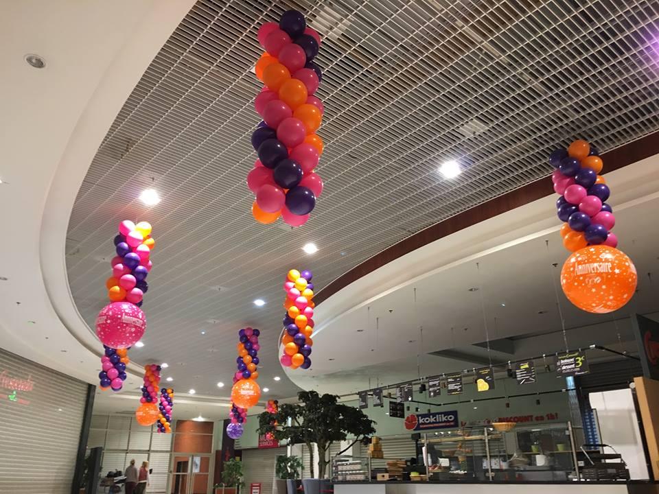 Ballons pour Opération commerciale