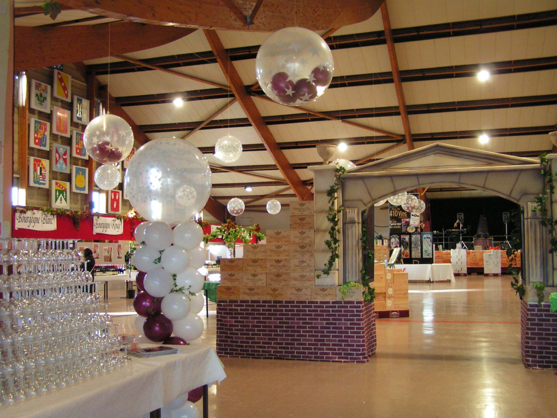 Dégustation de Vins et décors
