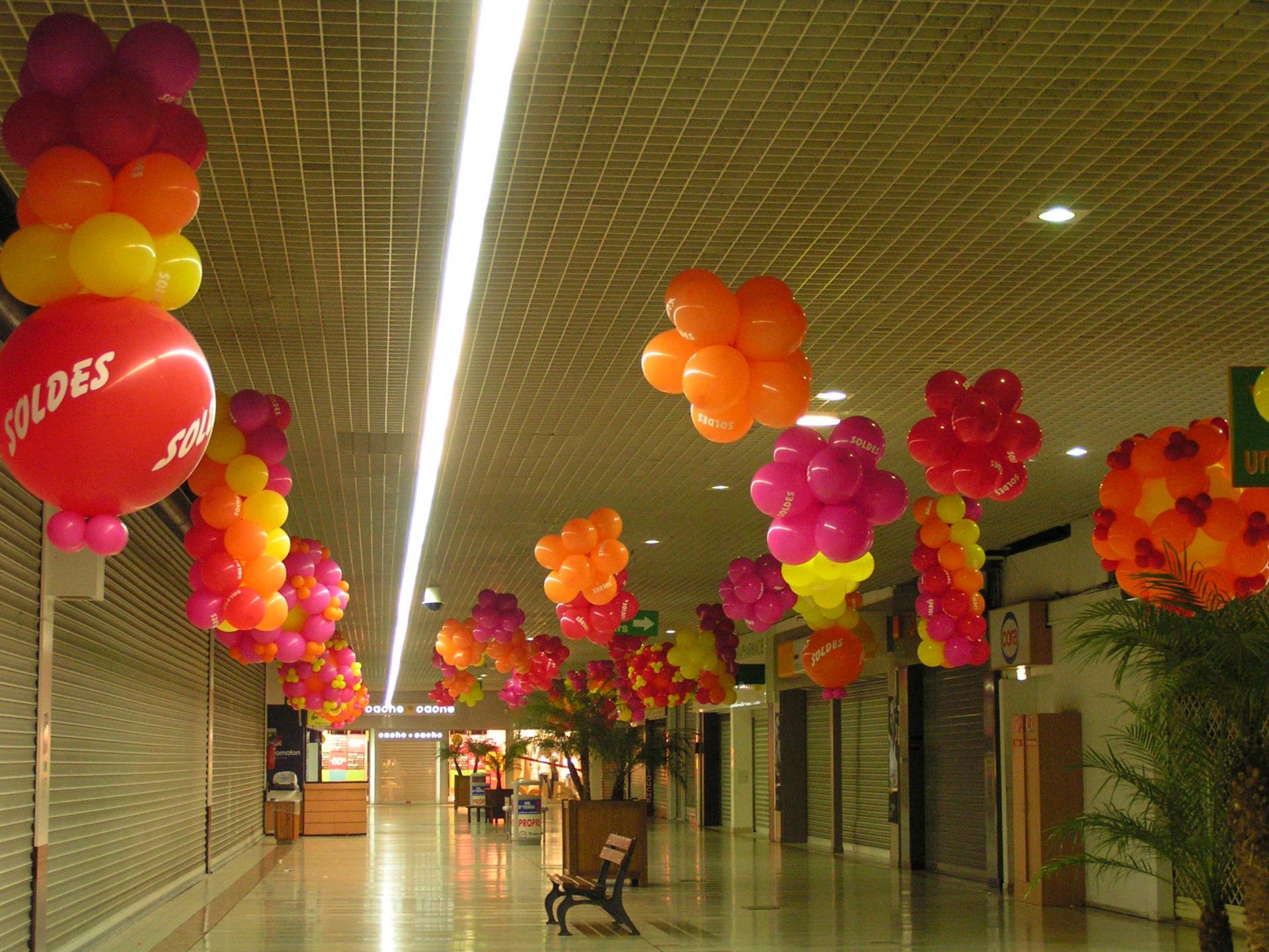 Décoration en Ballon pour les SOLDES