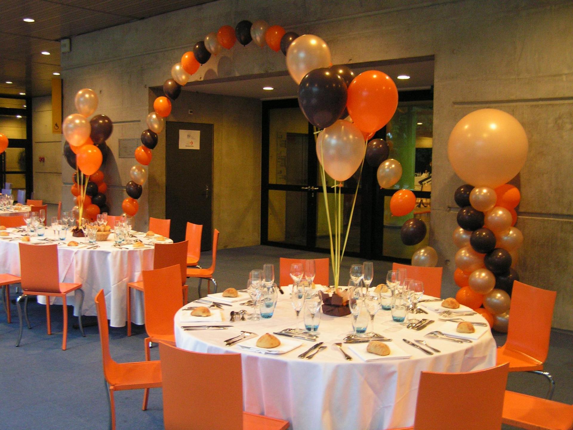 Ballon décoration salle