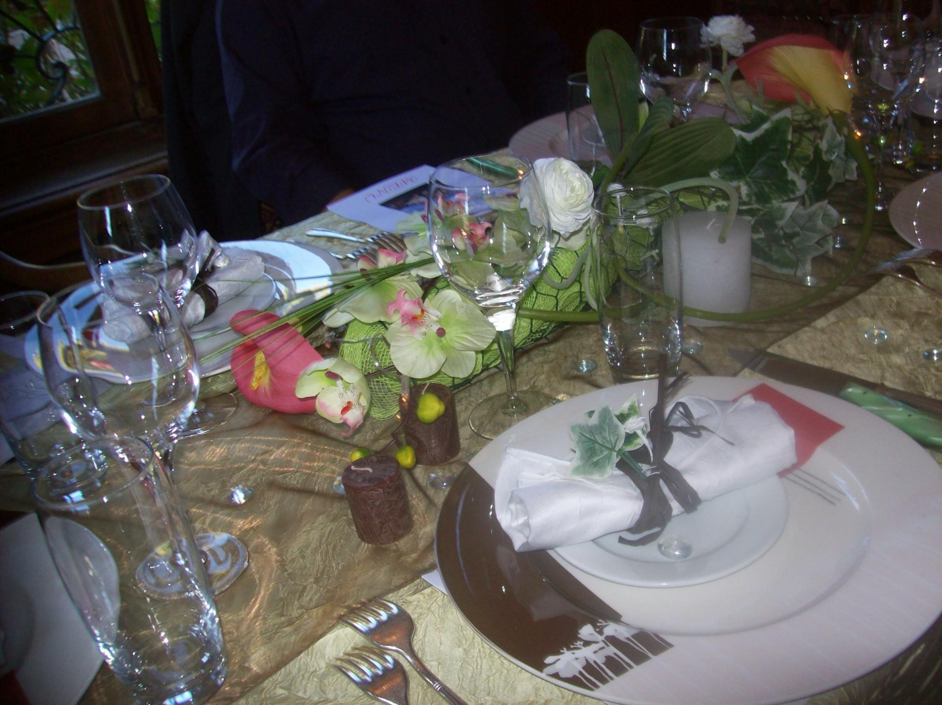 Centre de table pour Anniversaire