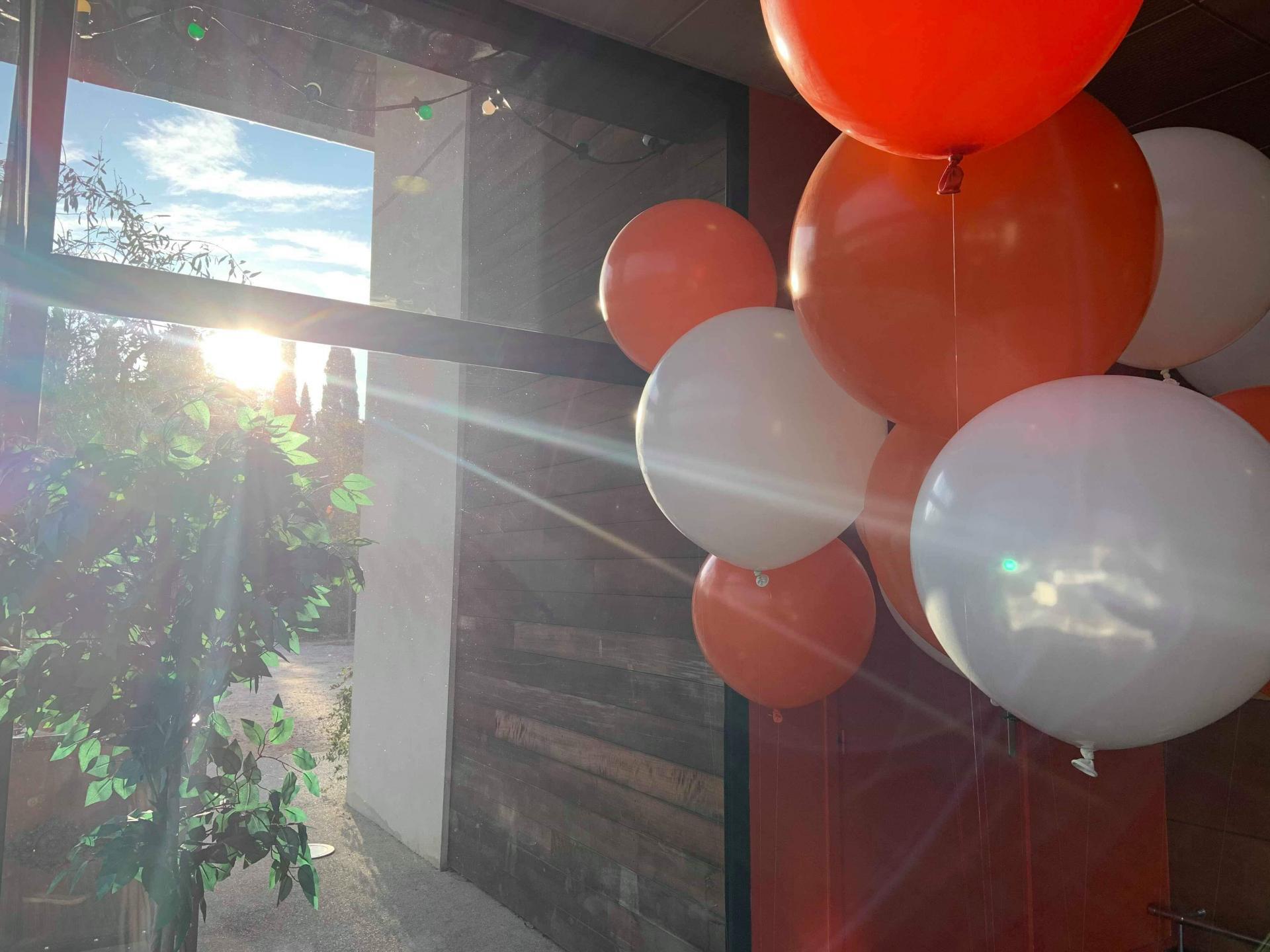 Helium gros ballon réception soirée
