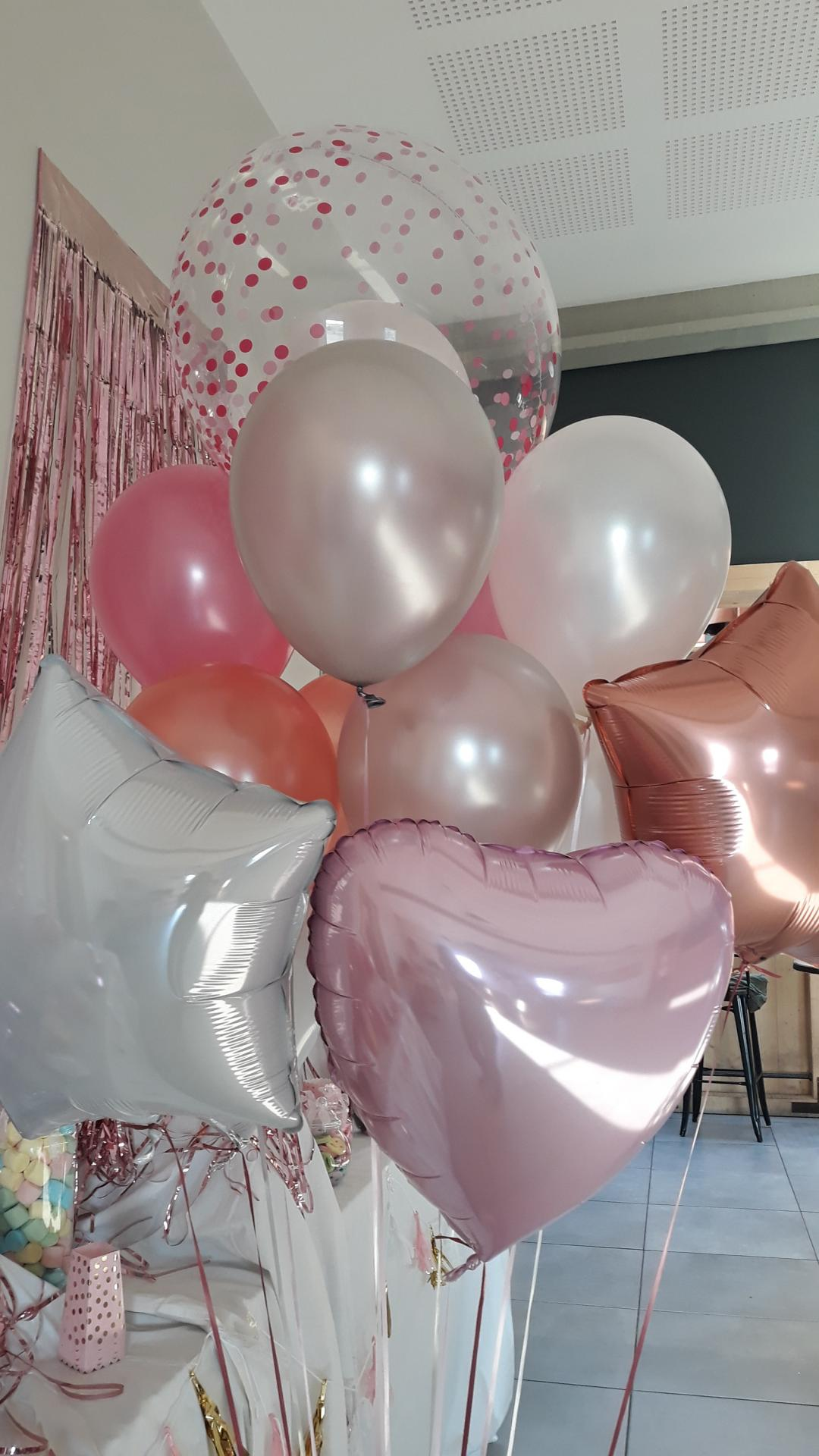 Bouquet helium candy bar