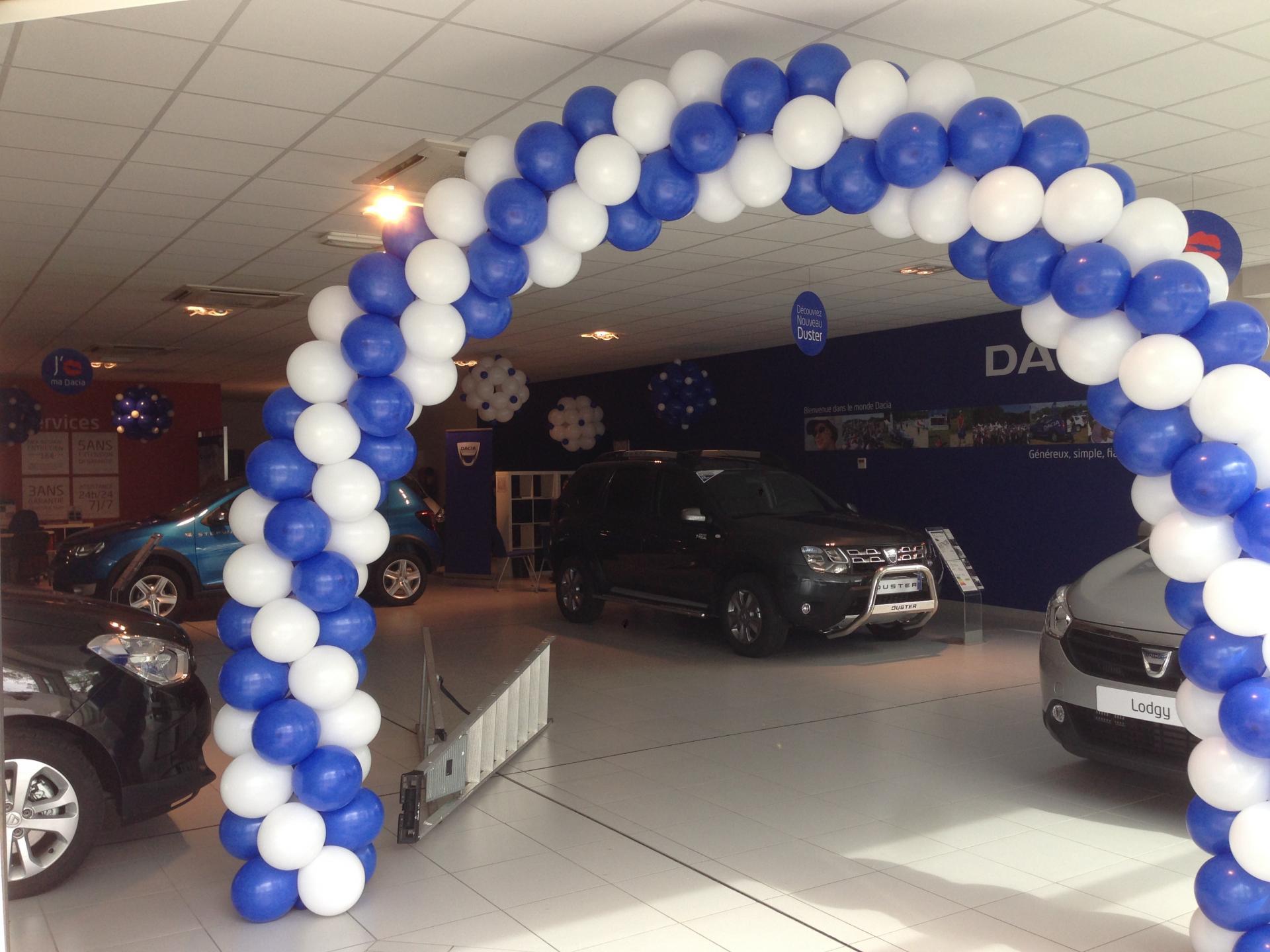 Arche Ballons Concession Dacia