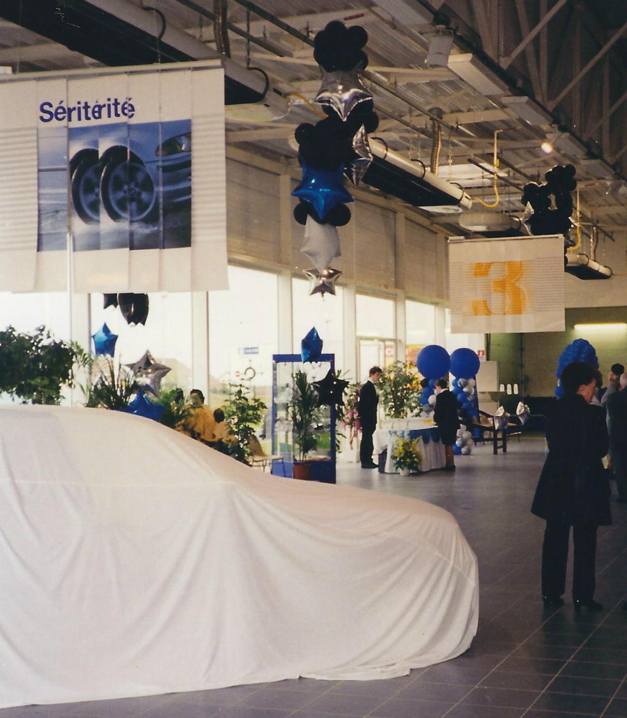 Inauguration garage BMW