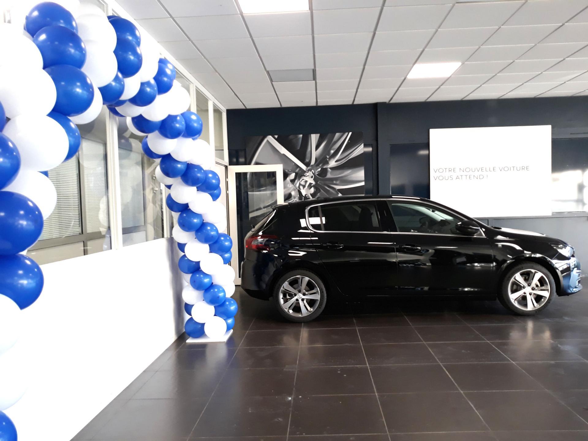 Arche Ballon Peugeot