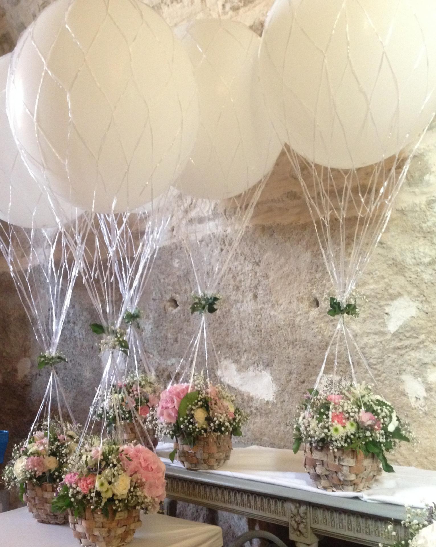 Montgolfière Ballon Mariage