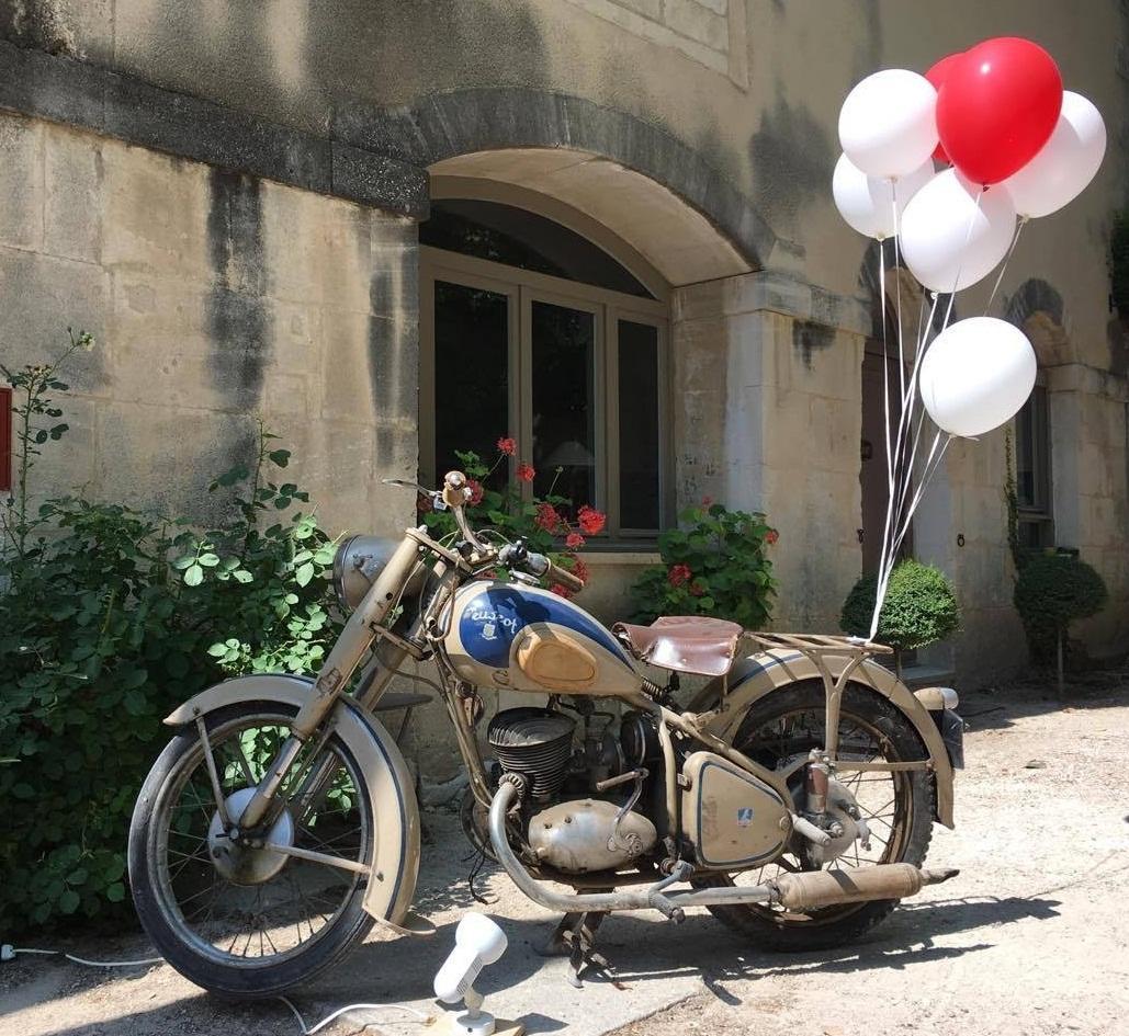 ballon hélium mariage