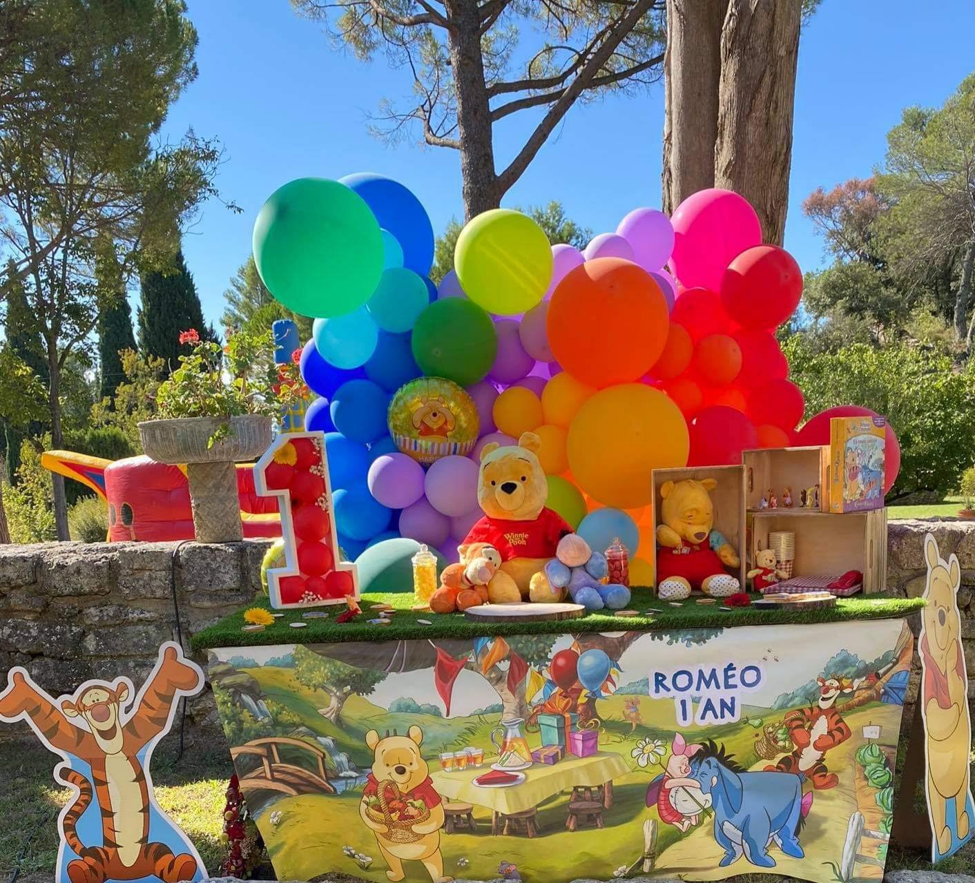 Mur Ballons Anniversaire enfant