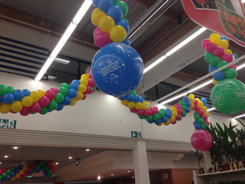 Ballon sérigraphie ANNIVERSAIRE