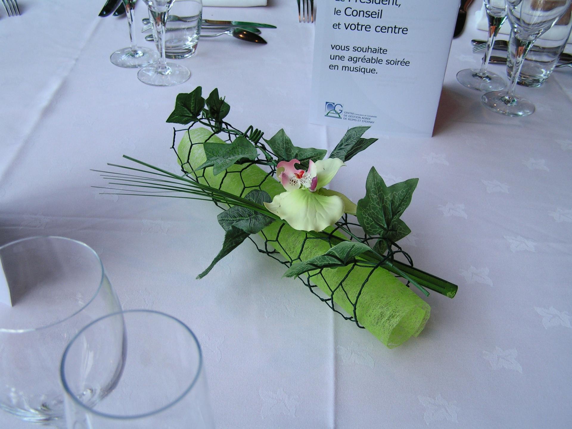 Décor de table réception
