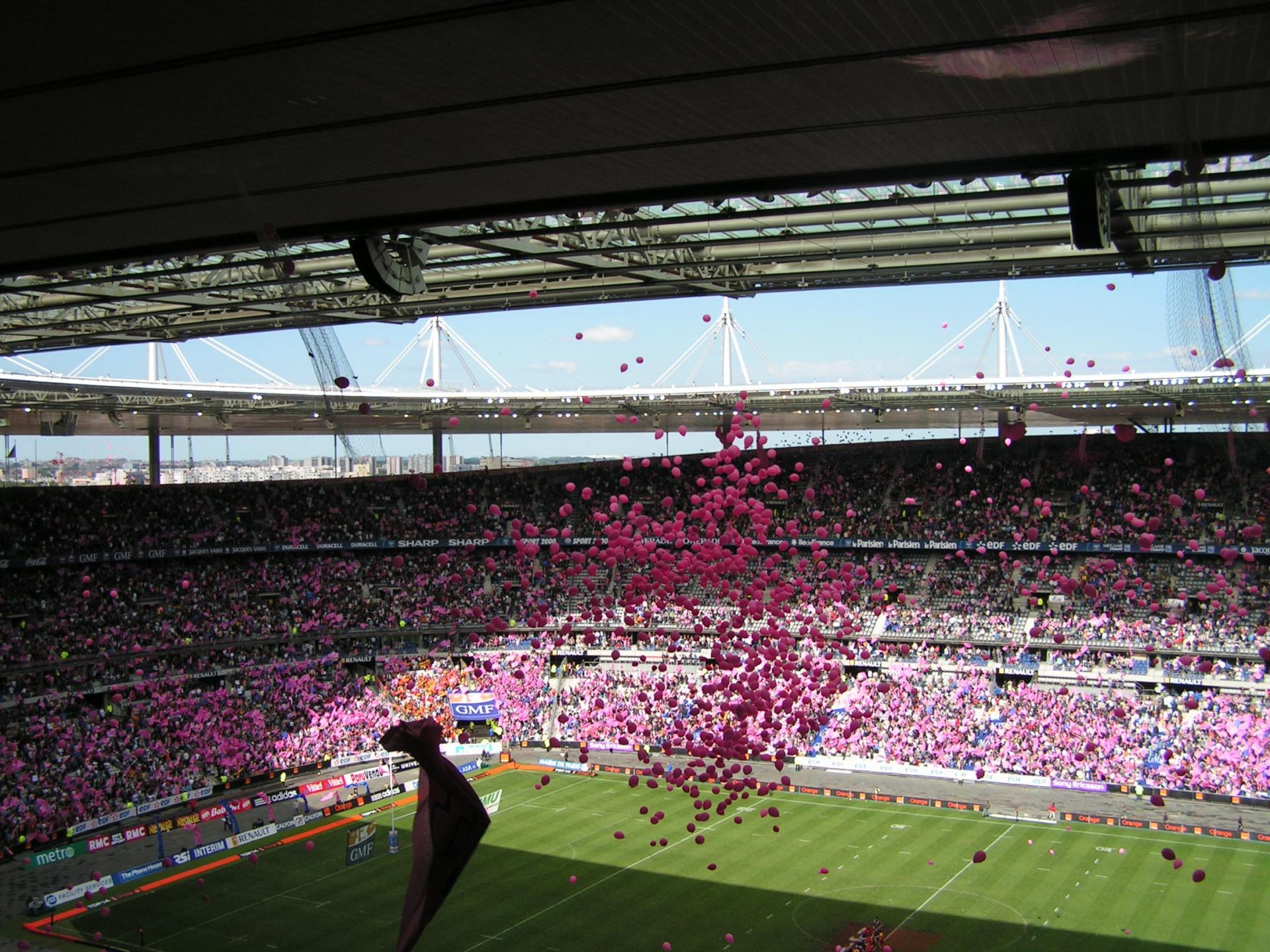 Tomber de Ballons Final du Top 14
