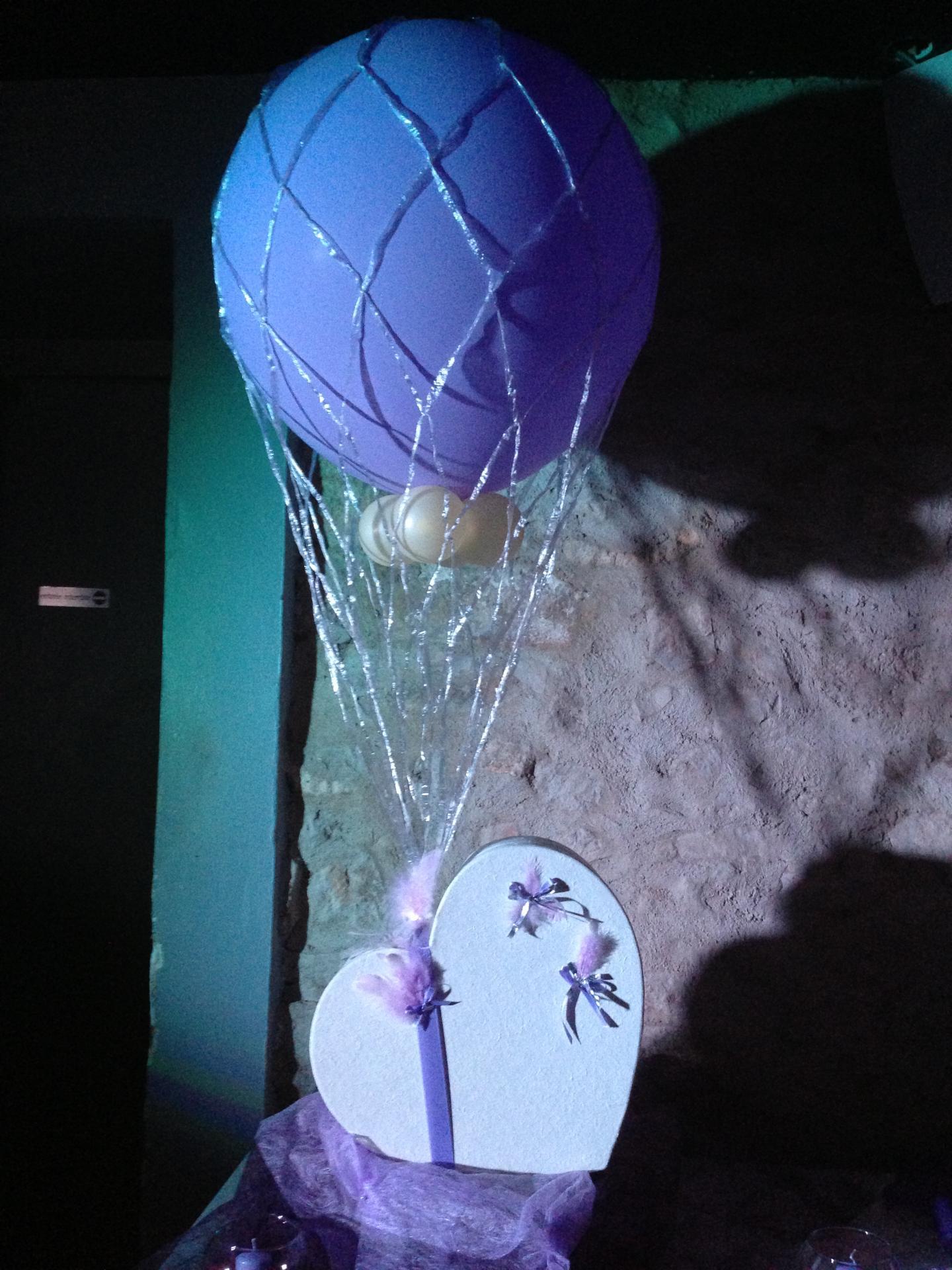 Urne Mariage Gros Ballon Hélium